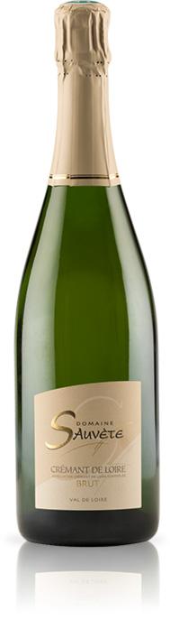 Cremant - Appellation Touraine Contrôlée. Vin Biologique certifié ECOCERT SAS F.32600.